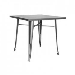 Mesa industrial Tólix acero color gris metalizado