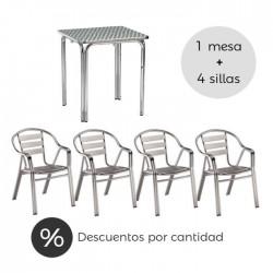 Conjunto terraza hostelería Tarragona
