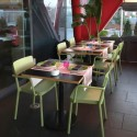 Silla Lisboa con brazos para hostelería y terrazas