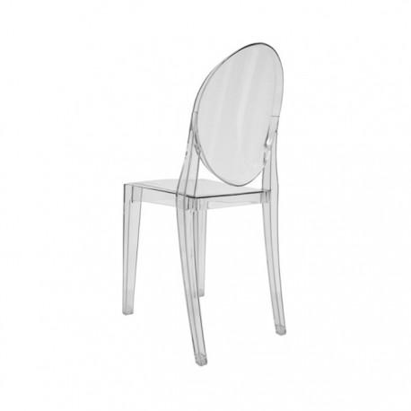 Silla diseño Ghost policarbonato transparente