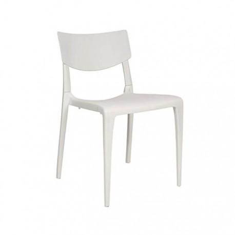 Silla Town plástico color blanco