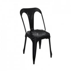 Silla industrial Multipl's acero color negro