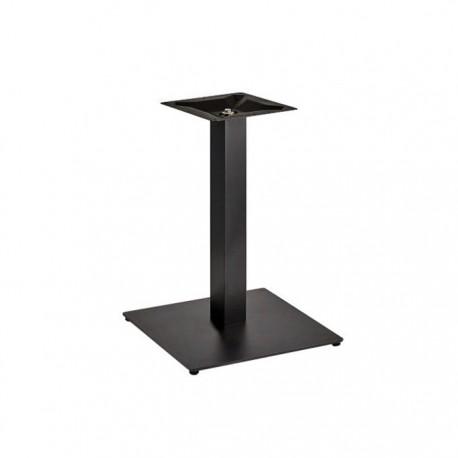 Pie de mesa central metálico Cairo altura 72 cm