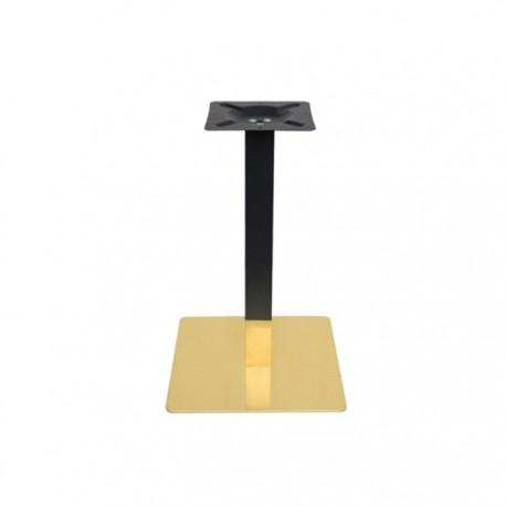 Pie Luxor negro y oro hostelería 72 cm