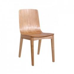 Silla Halden madera color natural