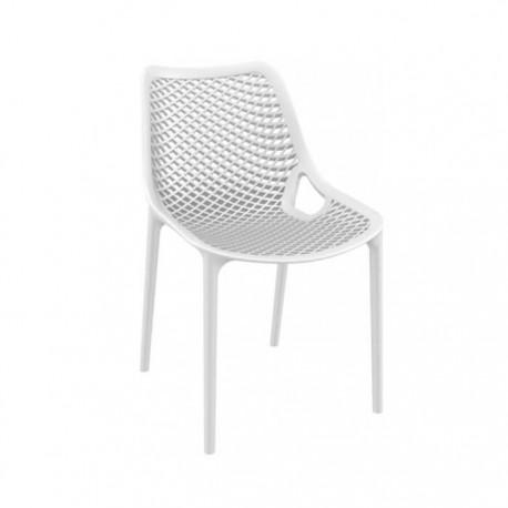 Silla Grid plástico color blanco