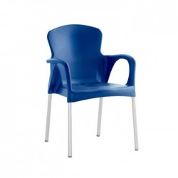 Silla Grace plástico color azul