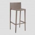 • Taburetes de plástico terraza