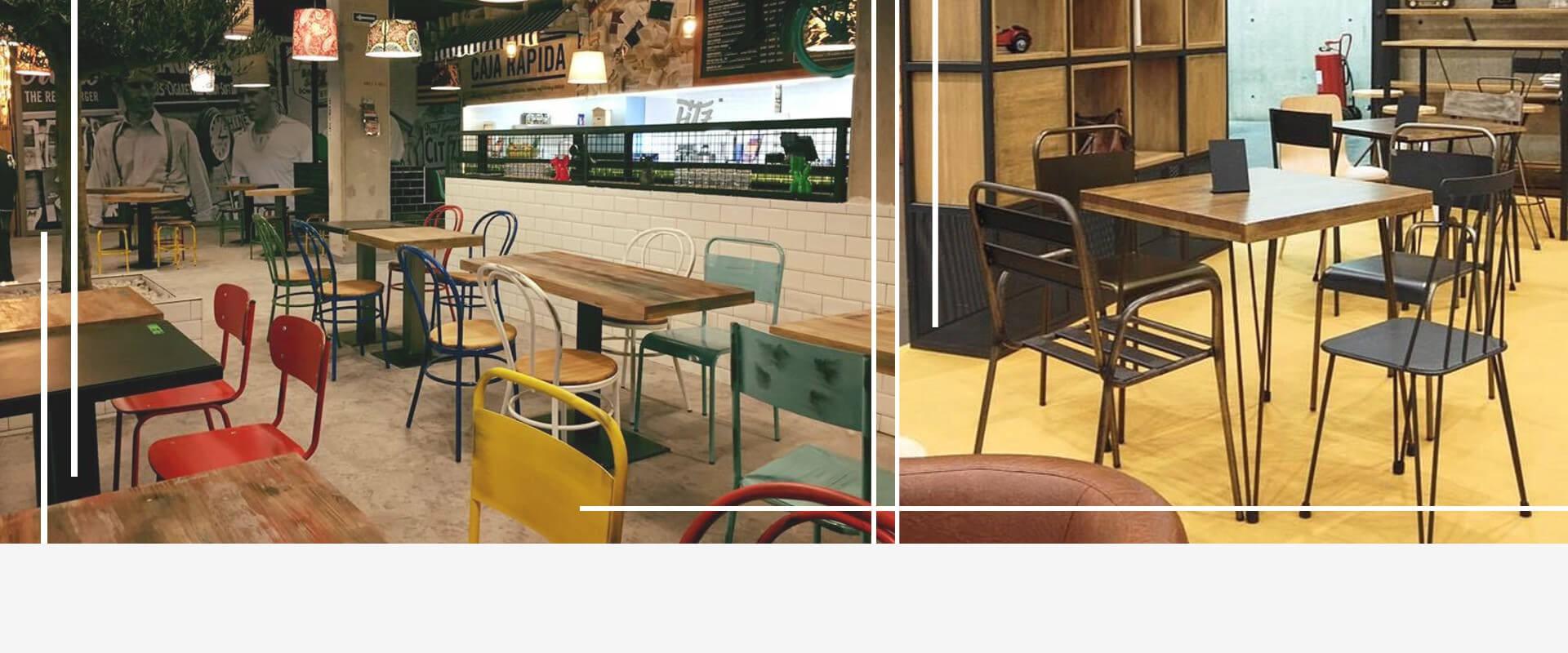 Mobiliario diseño vintage - Sillas y Mesas online