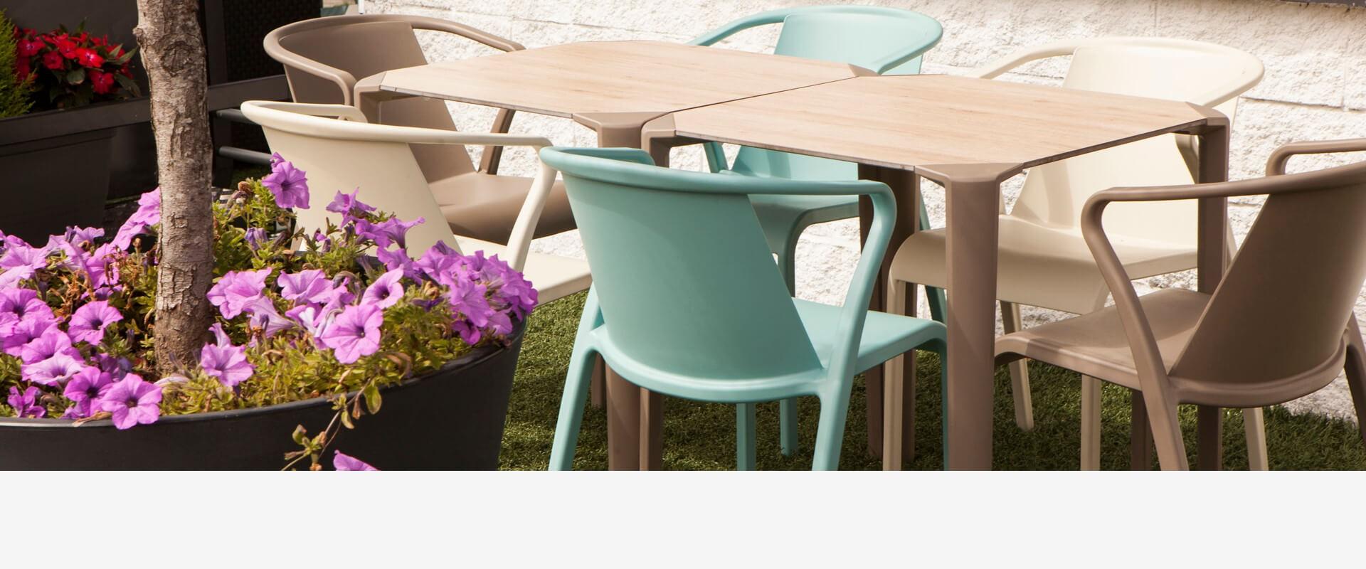 El mejor mobiliario para terrazas en HOSYMOBILIARIO